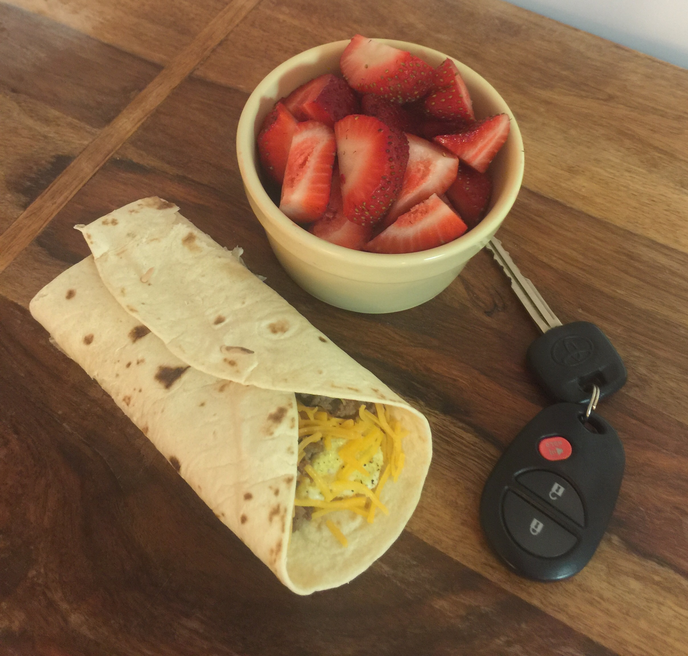 Easy Grab And Go Breakfast Burrito Parenting Diabetes Sylvia