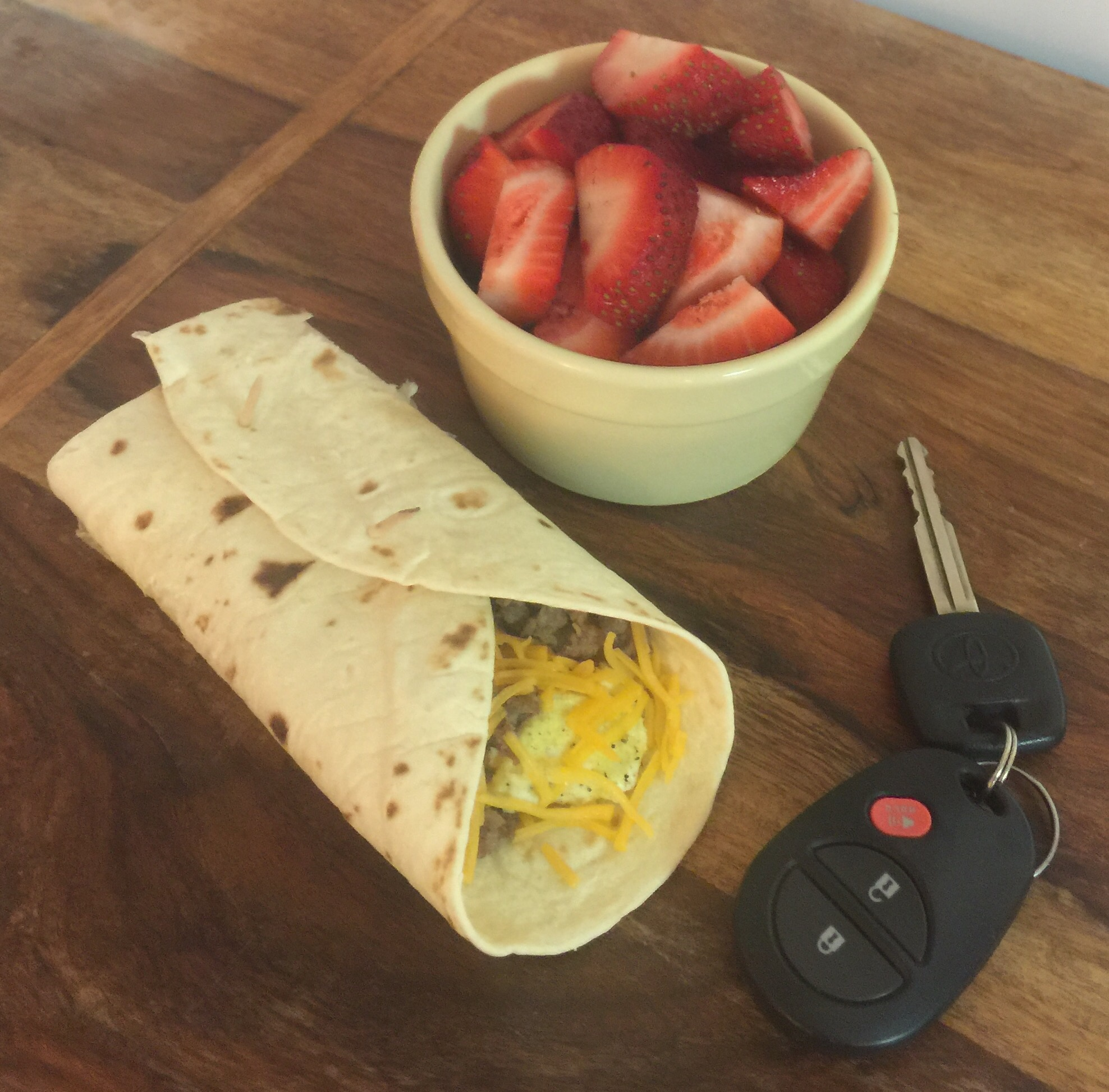 Easy Grab and Go Breakfast Burrito - Parenting Diabetes